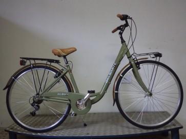 "Cigno 26""-28"" Alluminio 6v.-Verde Ganna"