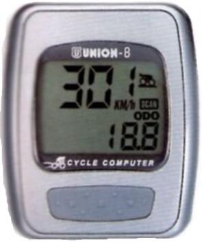 Ciclocomputer 8 funzioni
